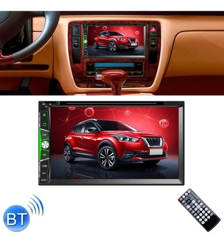 Dvd Vehiculo 6902 Full Hd 7 Doble Din Multimedia Cd