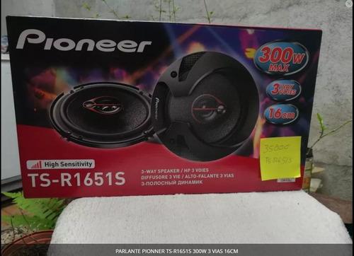 Parlante Pioneer Ts-r1651s 300w 3 Vias 16cm