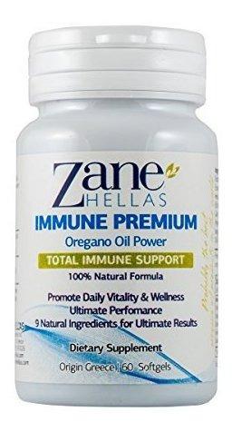 Hellas Zane Softgels Premium Inmunes. Soporte Inmune. Siste