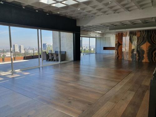 Imagen 1 de 30 de Hermoso Penthouse En Venta O Renta En Lomas De Vista Hermosa