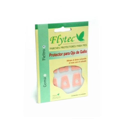 Imagen 1 de 5 de Protectorres Para Ojos De Gallo X6 Adhesivos (3 Unidades)