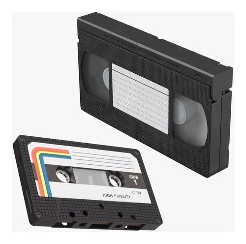 Reparacion Y Limpieza Vhs Cassettes Video Cassetera!