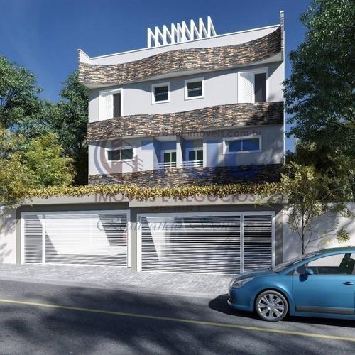 Imagem 1 de 6 de Apto Triplex C/03 Dorms ,1 Suíte  Churrasqueira Privativa Campestre-s.a - 9050