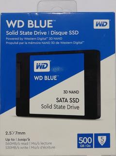 Disco Solido Wd Western Digital 500gb Original
