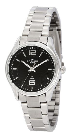 Relógio Feminino Backer Analógico 10272123f - Prata