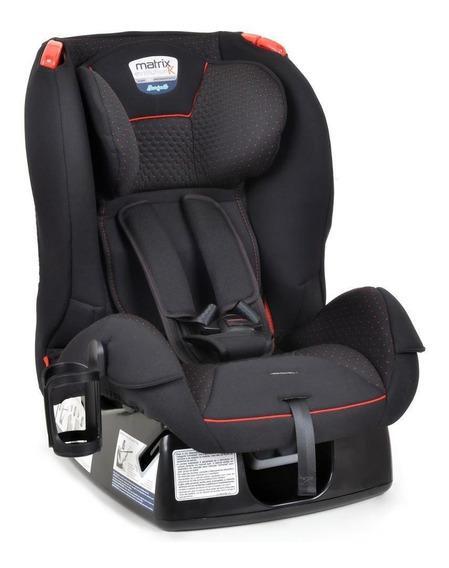 Cadeira Automóvel Matrix Evolution Preto/vermelho- Burigotto