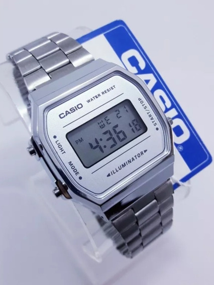 Reloj Casio Plata Silver Retro