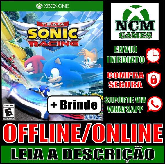 Team Sonic Racing Xbox One Offline/ Online + Brinde