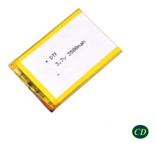 Batería Polimero De Litio 3.7v, 3500mah 755570 Lipo Li-po