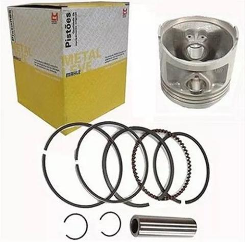 Pistão Com Anéis Ybr/factor/xtz 125 0.50 Metal Lev