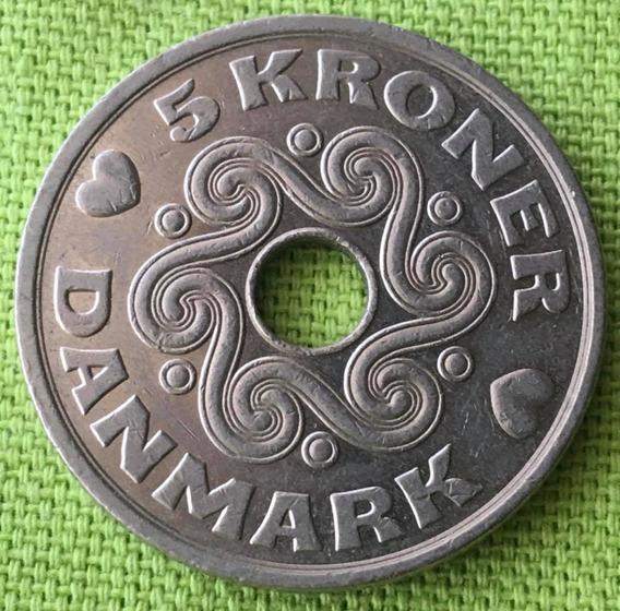 Dinamarca : Moneda De 5 Kroner 1999