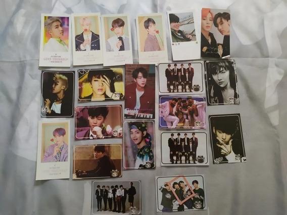Kpop | Kit Bts Com 20 Polaroids Pode Escolher Imagem