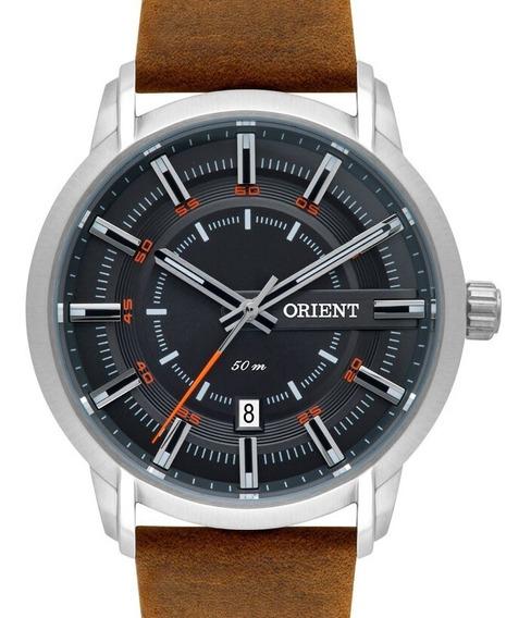 Relógio Orient Masculino Couro - Mbsc1028 G1nx