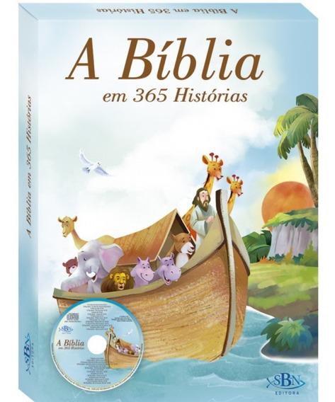 A Bíblia Em 365 Historias - Ilustrada Infantil + Brinde
