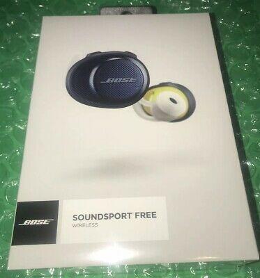Fone De Ouvido Bose Soundsport Wireless Preto E Limão
