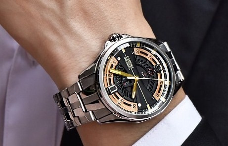 Relógio Pulso - Pagani Design 47,8mm - Vidro Hardlex