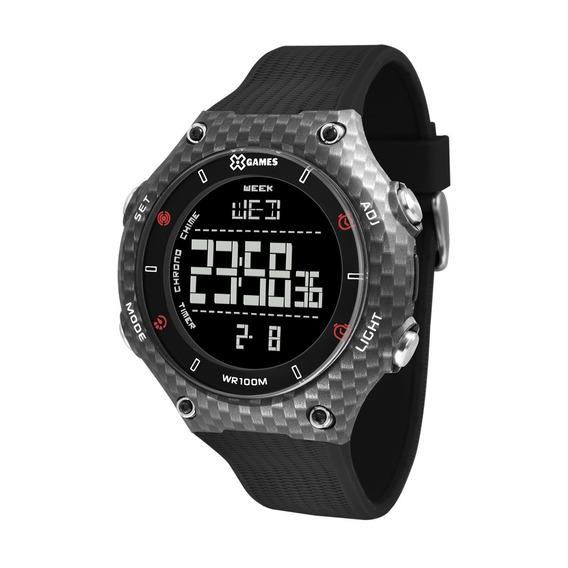 Relógio X-games Masculino Xport Carbon Xmppd567-pxpx