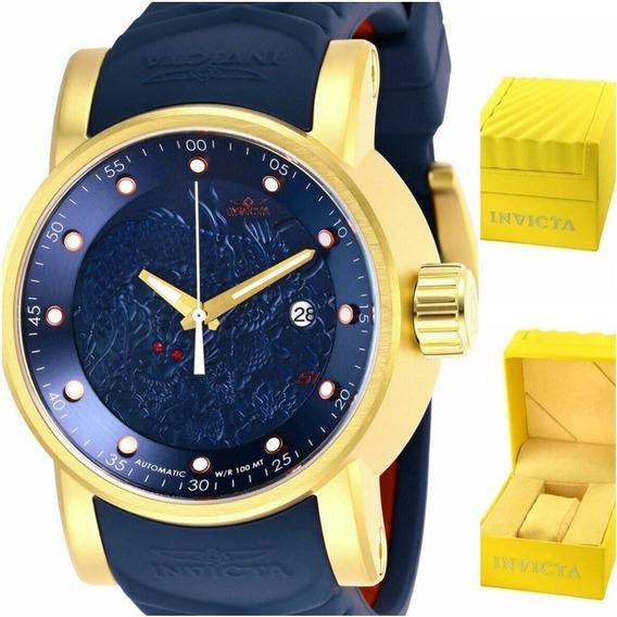Relógio Invicta S1 28178 Yakuza Automático Original.