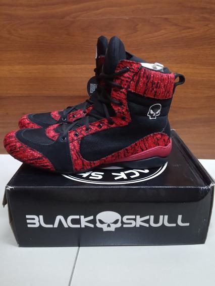 Botinha Black Skull Bs 1060 A