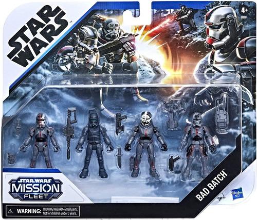 Imagen 1 de 9 de Mission Fleet Bad Batch Star Wars Hunter Wrecker Echo Crossh