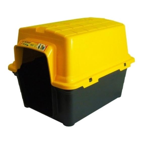 Casinha Para Pet De Plástico N3 51x51x67cm Amarelo