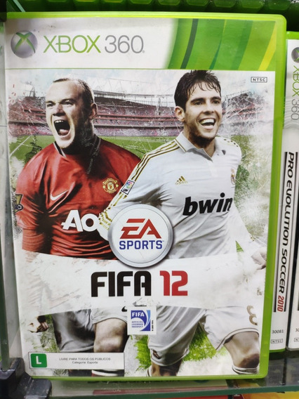 Jogo Fifa 12 Xbox 360, Mídia Física Usado