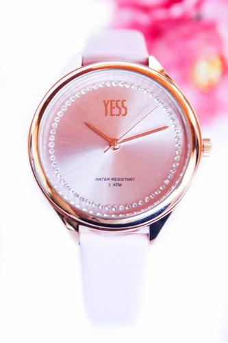 Reloj Yess Original Dama Mujer + Envío Gratis