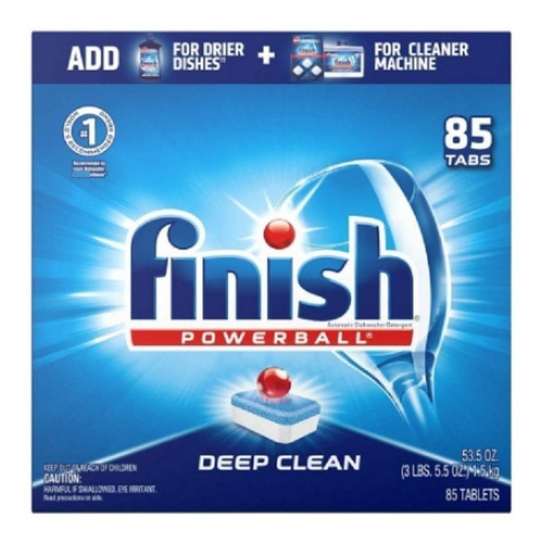 Detergente Lavavajillas Finish Powerba - kg a $1362