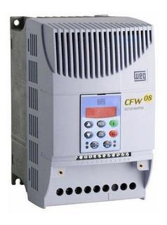 Inversor De Frequência Cfw08 5cv 10a 380v Weg Trifásico