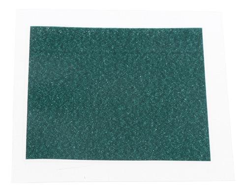 Frio! Folha De Visualização De Campo Magnético Verde 50 X