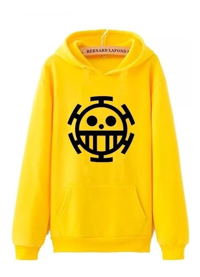 Moletom One Piece Trafalgar Law - Blusa Casaco Anime Geek