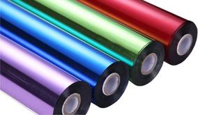 Kit Foil Transfer Laser Copo E Papel - 8 Cores 10 Cm