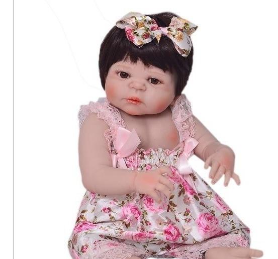 Bebê Reborn Victória-corpo Silicone-boneca-pronta Entrega