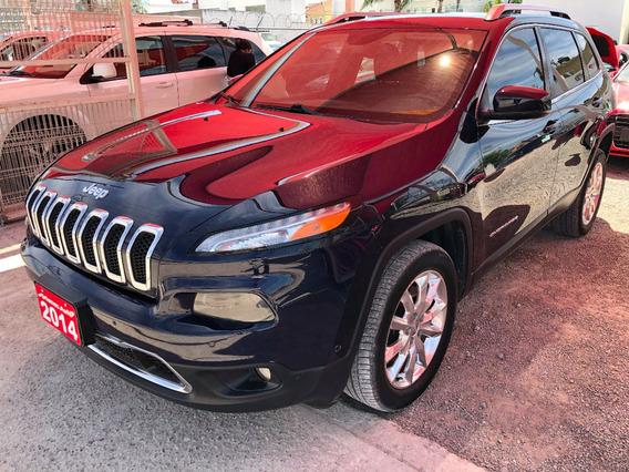 Jeep Cherokee Limited 2.4l 2014 Credito Recibo Auto Financia
