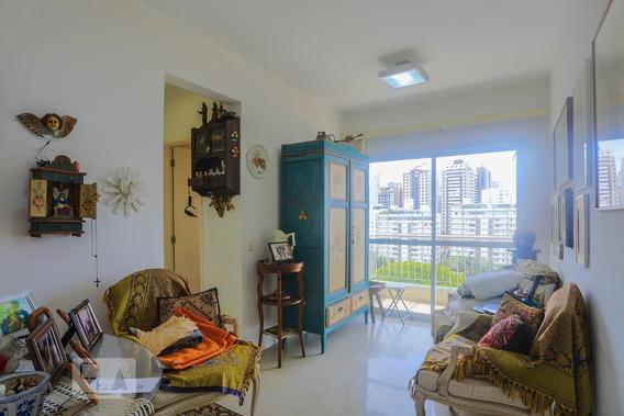 Apartamento No 9º Andar Com 1 Dormitório E 1 Garagem - Id: 892977275 - 277275
