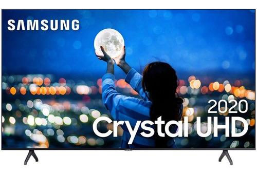 Imagem 1 de 9 de Smart Tv 58 Samsung Crystal 129cm De Tela -frete Grátis*