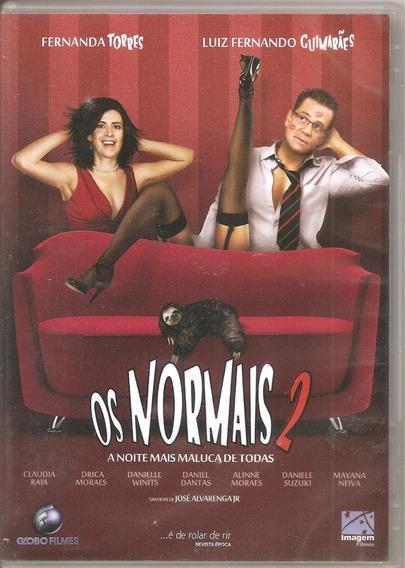 Dvd Os Normais - A Noite Mais Maluca De Todas - Fernanda To