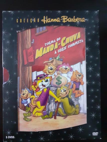 Manda Chuva Série Completa 5 Dvds Box Com Luva. Novíssimo