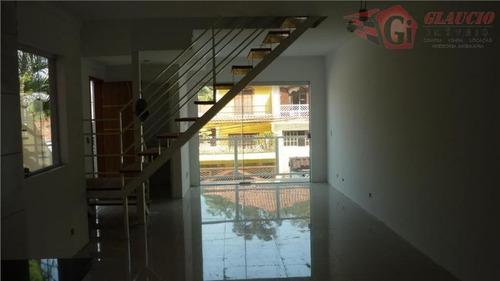 Sobrado Para Venda Em Taboão Da Serra, Parque Monte Alegre, 3 Dormitórios, 3 Suítes, 4 Banheiros, 3 Vagas - So0347_1-1010117