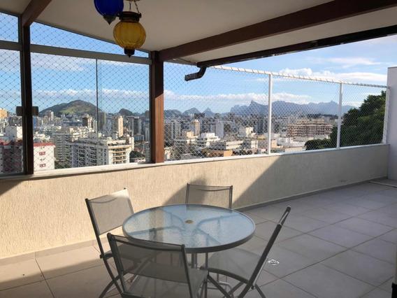 Casa Em Área Nobre De Niterói Com Vista Indevassável !