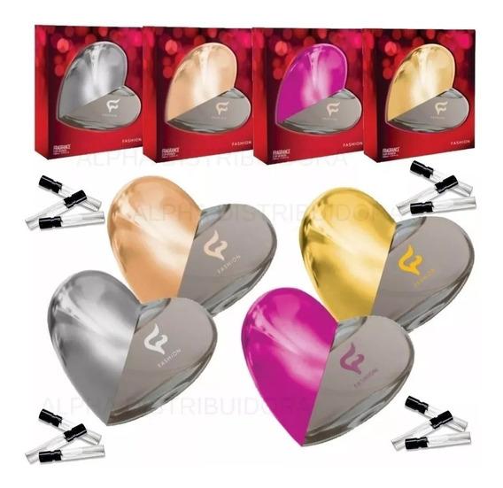 12 Perfumes 30ml Feminino Fashion Revenda Com Amostras !!
