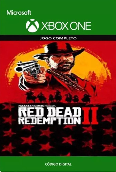 Red Dead Redemption 2 Xbox One Códigos 25 Dígitos