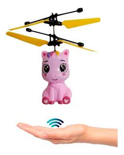 Muñeca Pony Unicornio Voladora Magica Flaying Drone Infraroj