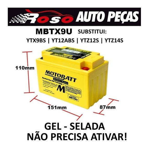 Bateria Moto Gel Honda Cbr 900rr Fireblade Nc 700 Shadow 750