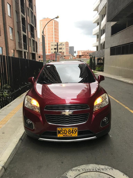 Chevrolet Tracker 2014 Motor 1.8 Automatica Color Vinotinto