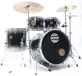 Bateria Dixon Outlaw 10/12/14/22/14cx 100% Maple