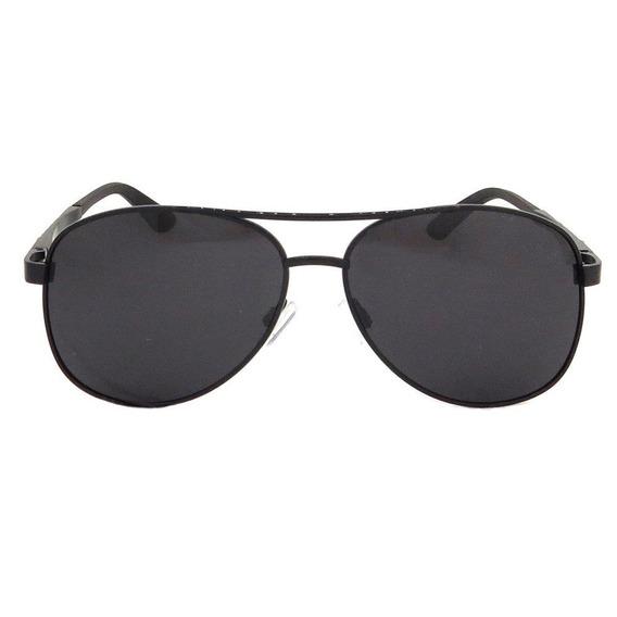 Óculos Aviador Preto Polarizado Siraucsa