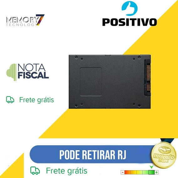 Hd Ssd 120gb Para Notebook Positivo Xr3500 Hd4nc