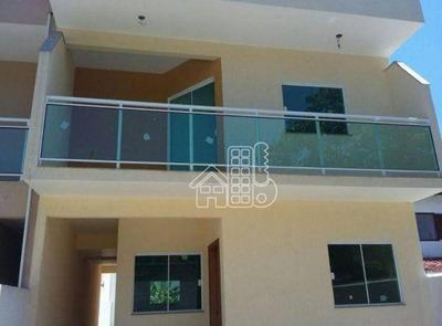 Casa Com 3 Dormitórios À Venda, 140 M² Por R$ 480.000 - Itaipu - Niterói/rj - Ca0488
