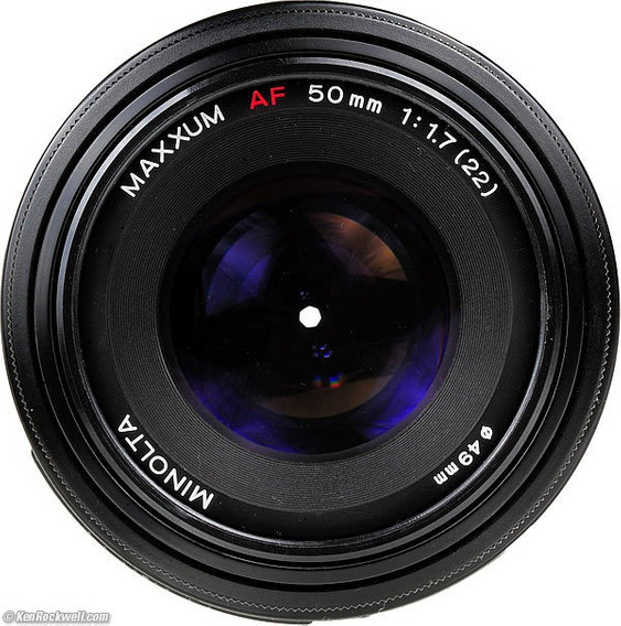 Lente Sony 50mm 1.7 Minolta